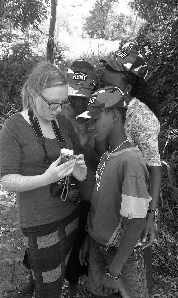 Teaching Photography at The Boys & Girls Club © Jessica Gatfield