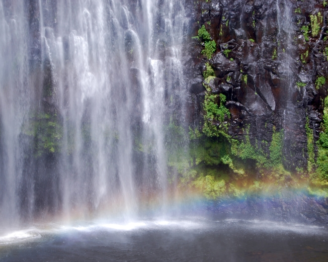 Rainbow at the Falls © Jessica Gatfield