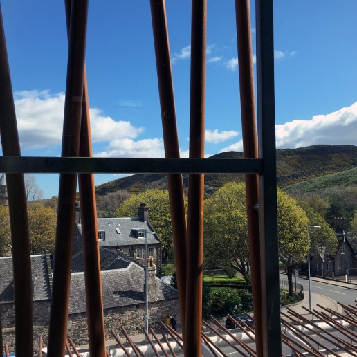 View From The Scottish Parliament