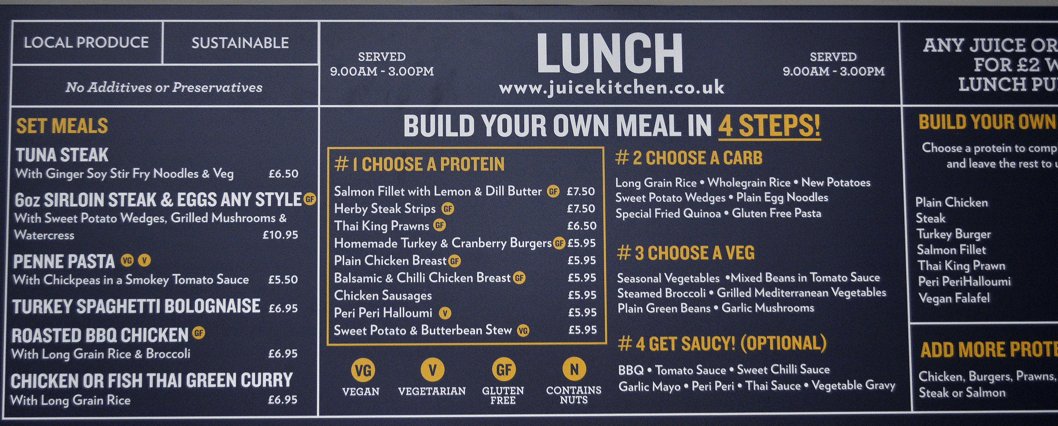 Eating Vegan At The Juice Kitchen, Chelmsford