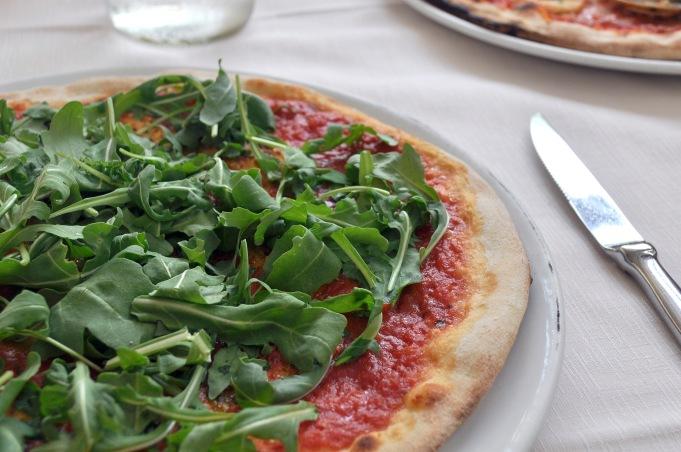 Marinara Pizza With Rocket