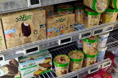 Vegan Ice Cream Selection, Carre Four