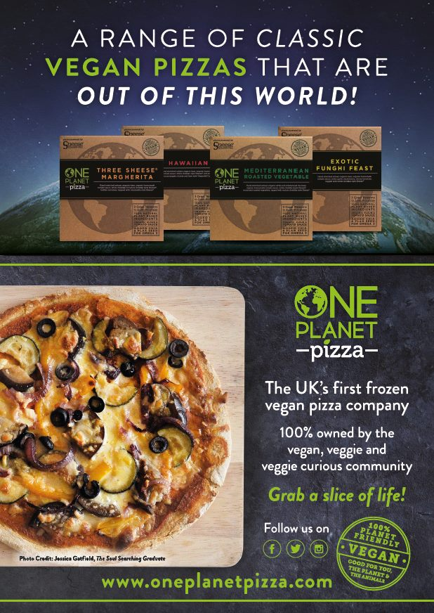 One Planet Pizza Flyer