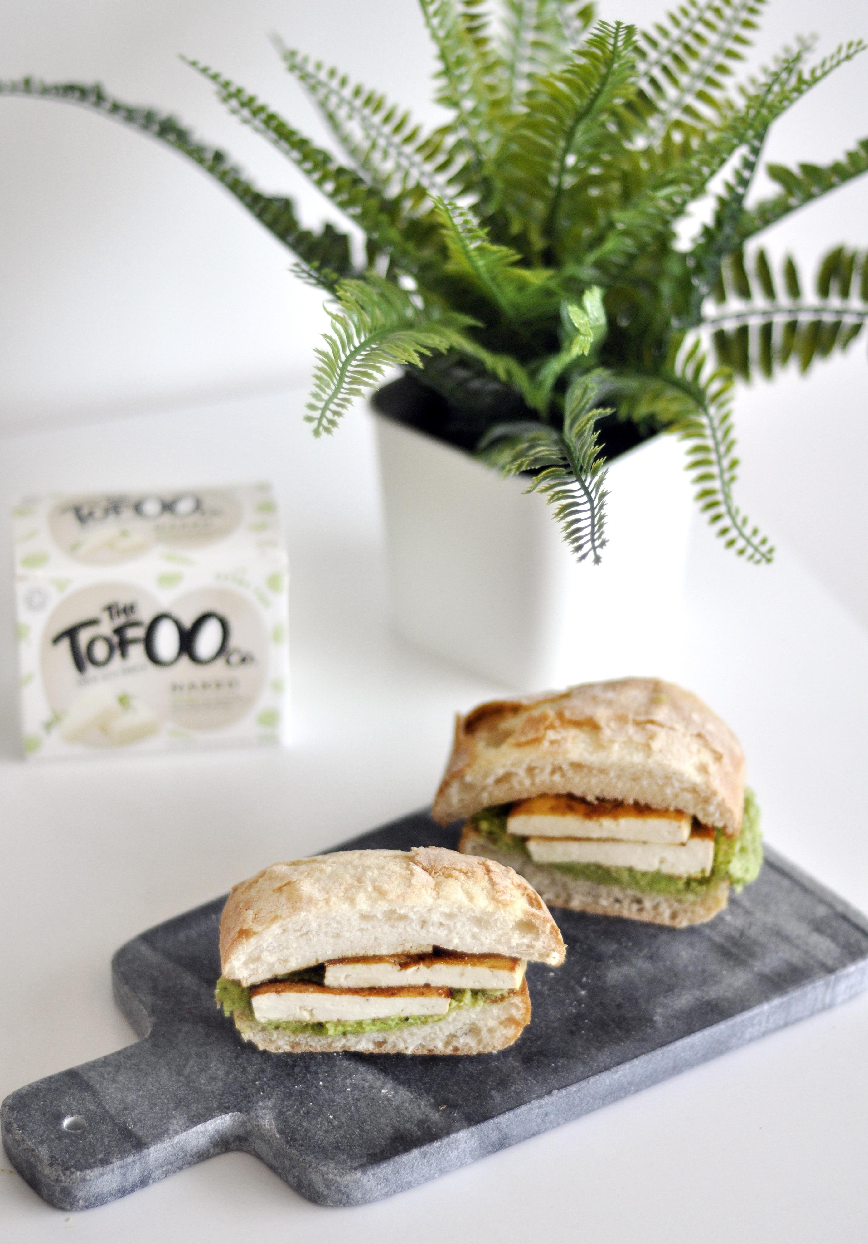 Vegan Tofu Avocado Sandwich