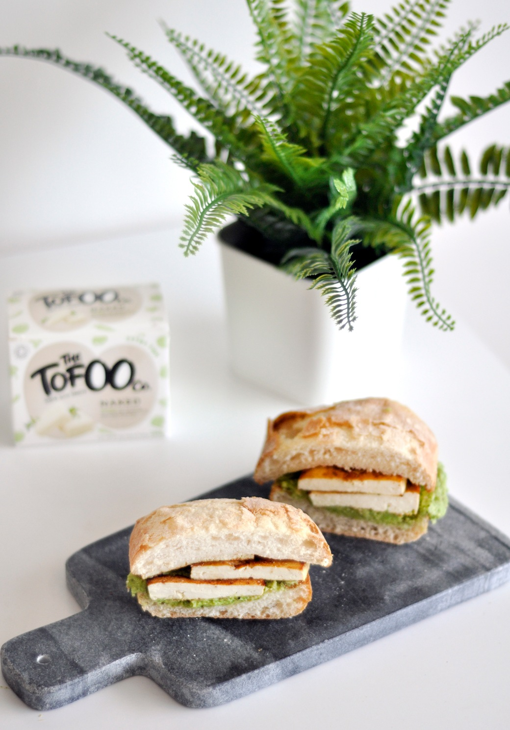 Vegan Tofu Avocado Sandwich